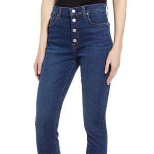 7 for all Mankind High waist crop skinny jean